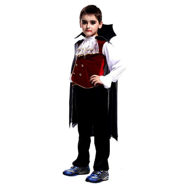 Kid's Vampire Halloween Costume Set