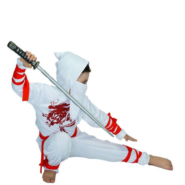 Boy's White Ninja Costumes