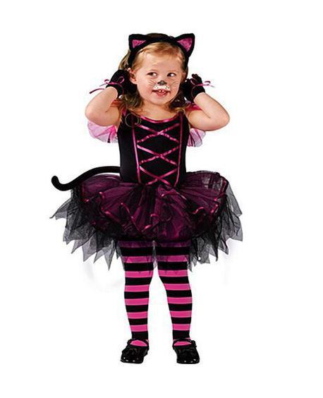 Girl's Cute Cat Halloween Costumes