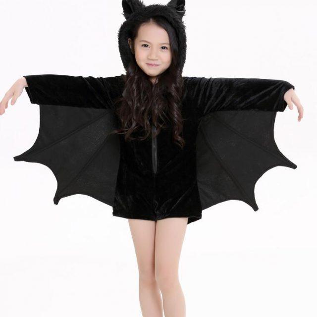 Girl's Cute Bat Halloween Costumes