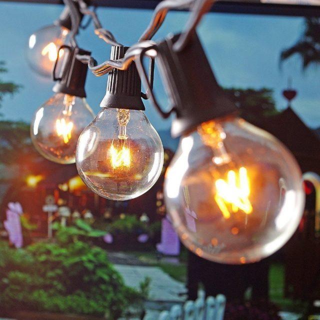 Vintage Outdoor Bulbs String Lights