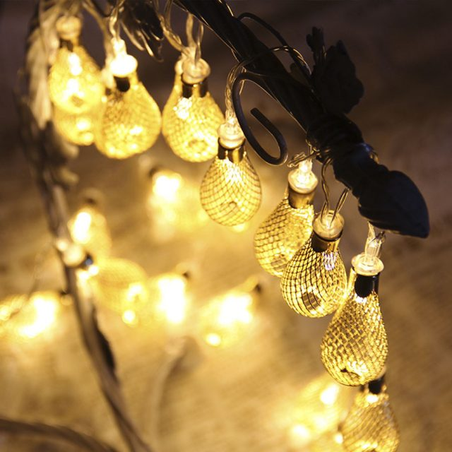 Vintage Style Bulbs Outdoors Party LED Fairy Lights