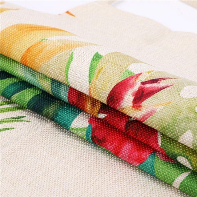 Tropical Plants Printed Kitchen Apron