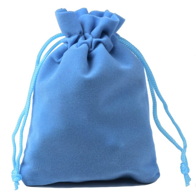 Colorful Velvet Jewelry Bags (10pcs/Set)