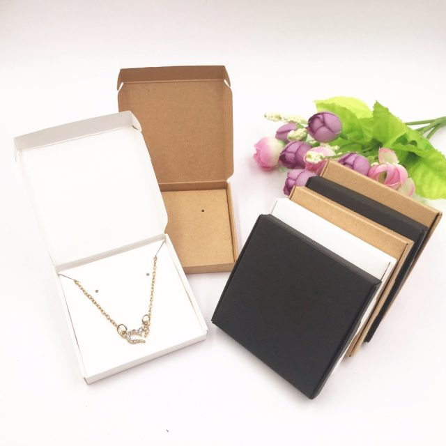 50 pcs/ Set Jewelry Paper Box