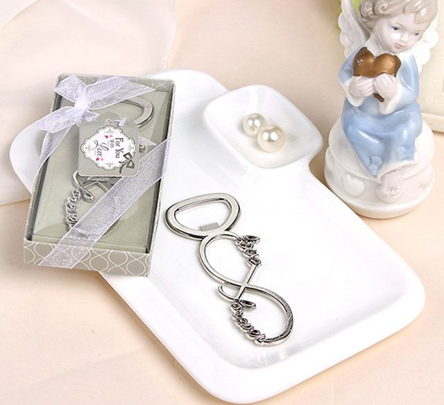 Stainless Steel Bottle Opener Wedding Favors For Guests