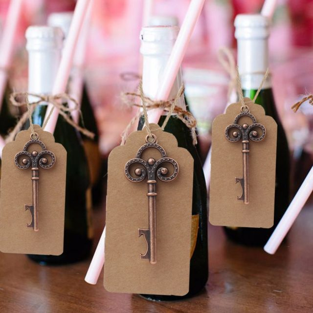 Key Wedding Party Favours