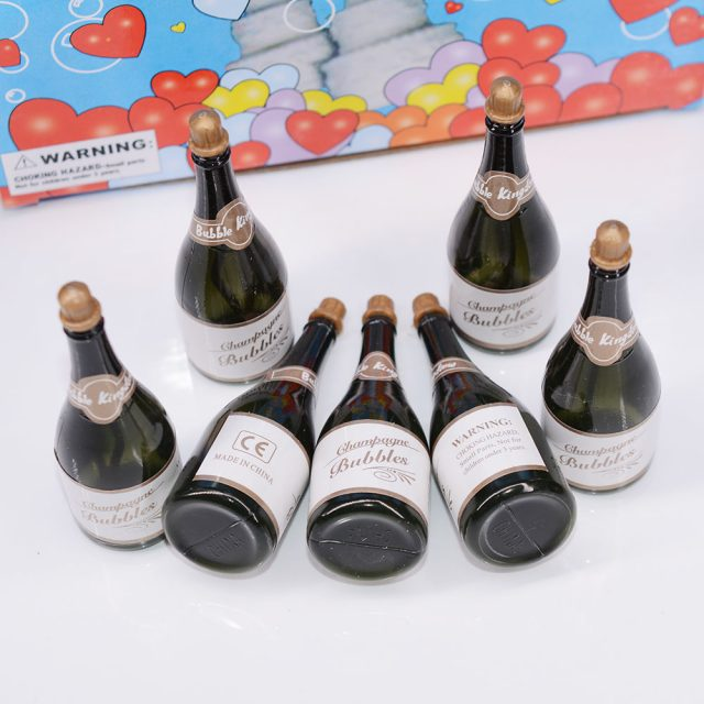 Mini Champagne Bubbles Wedding Favours (48 Pcs)