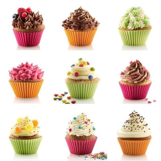 Non-stick Silicone Cupcake Molds
