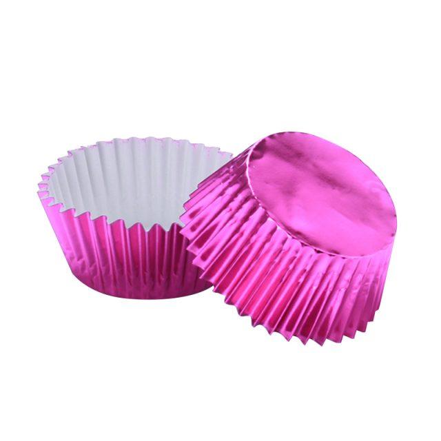 Metallic Glittery Thickened Cupcake Cups Set