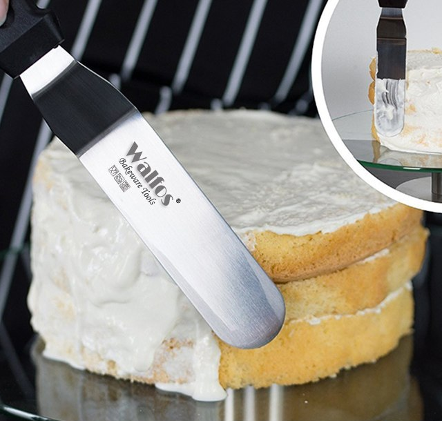 Flexible Stainless Steel Cooking Spatula