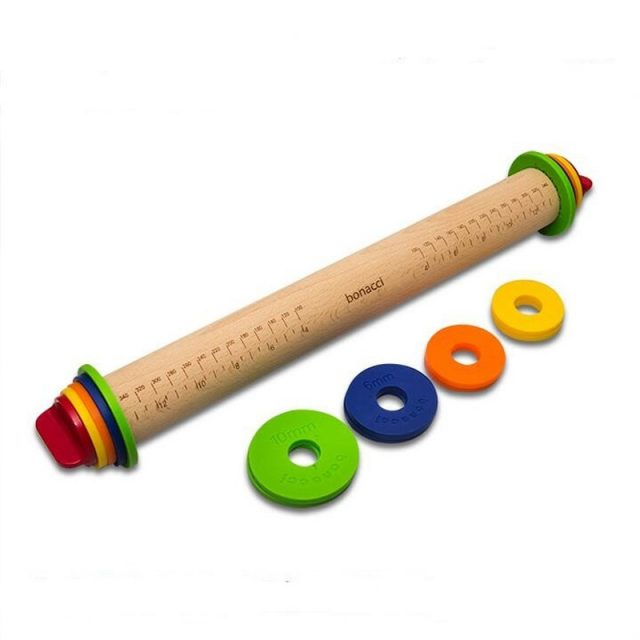 Multifunctional Convenient Eco-Friendly Wooden Rolling Pin
