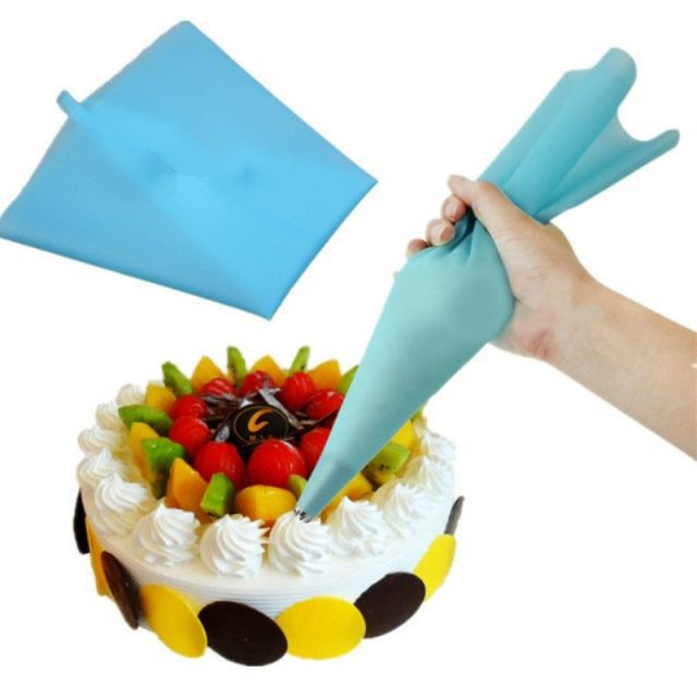 Professional Reusable Durable Eco-Friendly Silicone Pastry Bag