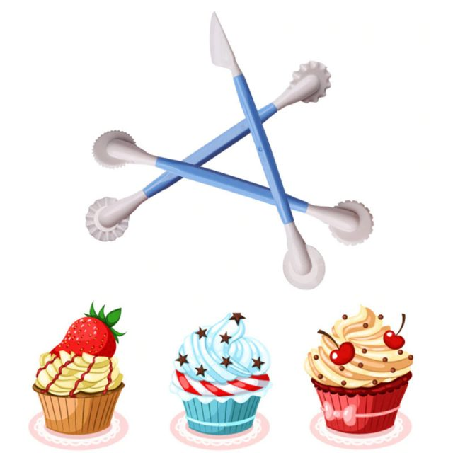 Plastic Modelling Tool for Cake Decorating 3 pcs Set