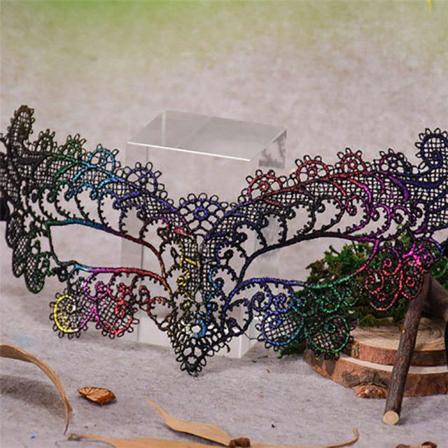 Carnival Lace Mask