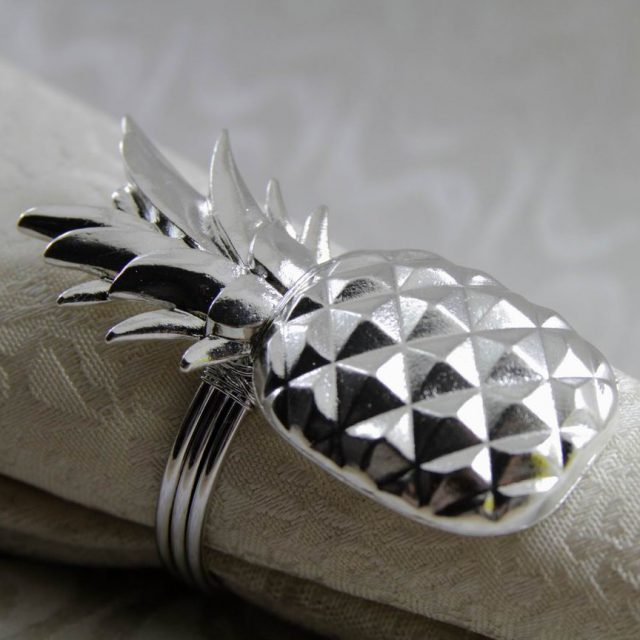 Pineapple Shaped Napkin Holder's Set