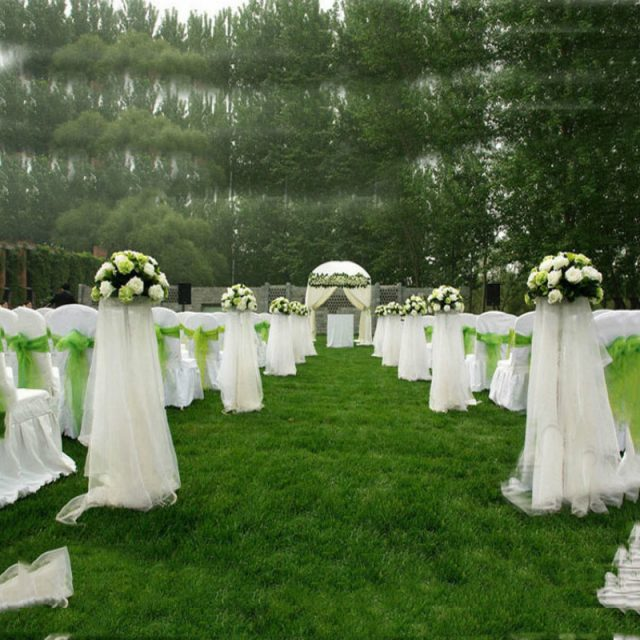 Crystal Tulle Rolls For Wedding Decoration