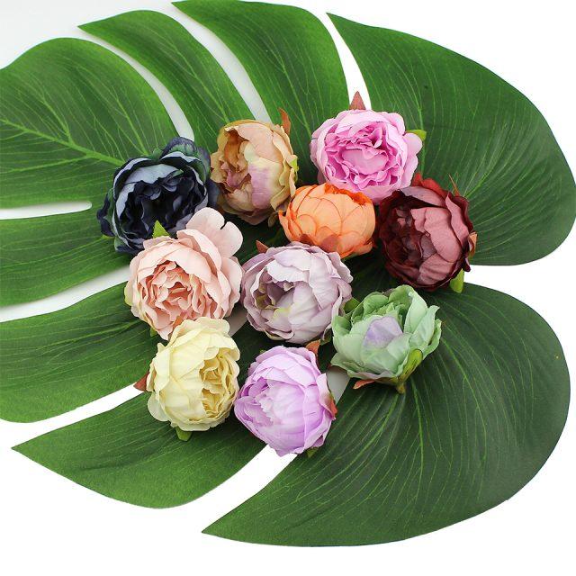 DIY Decorative Silk Artificial Flowers for Wedding Decoration