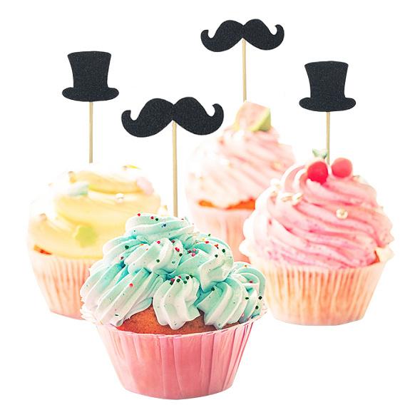 Gentleman Cake Toppers Set