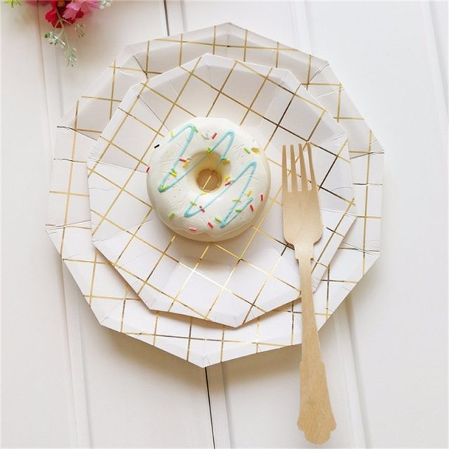 Disposable Paper Tableware For Party