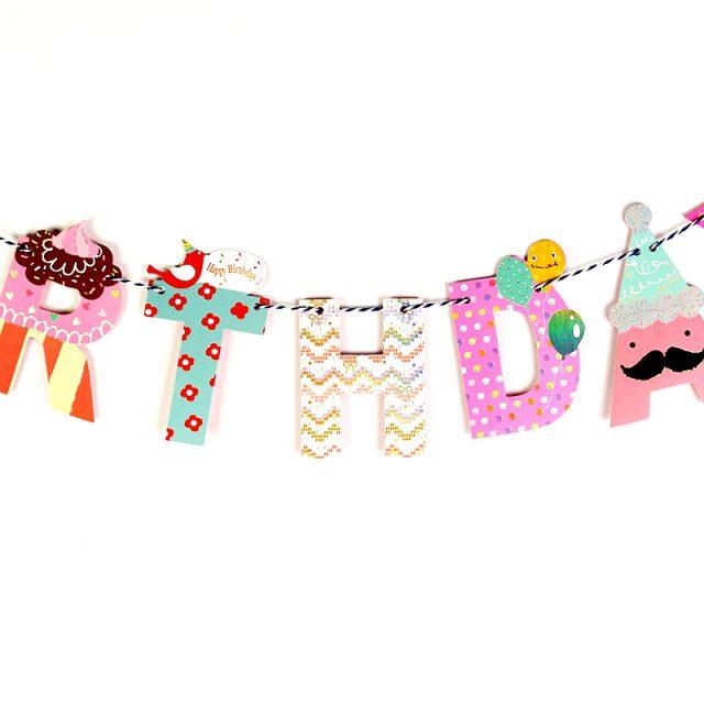 Happy Birthday Banner 200 cm