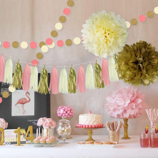 Party Paper Garlands Set