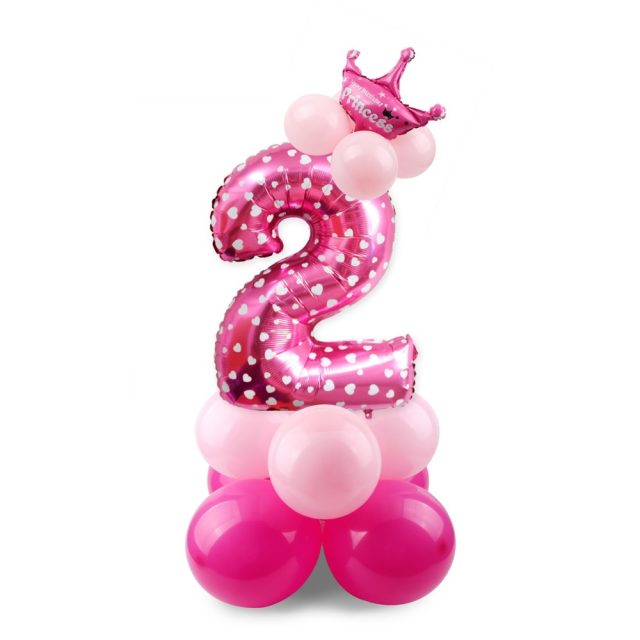 Birthday Party Decoration Balloons 17 pcs/Set