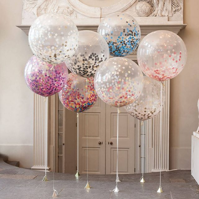 Confetti Balloons for Party Decoration 5 pcs/Set