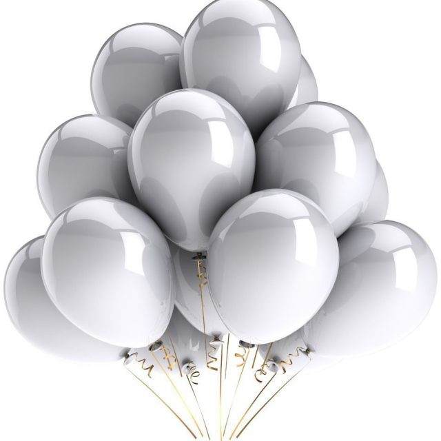 Marvelous Pearl Gold Latex Balloons