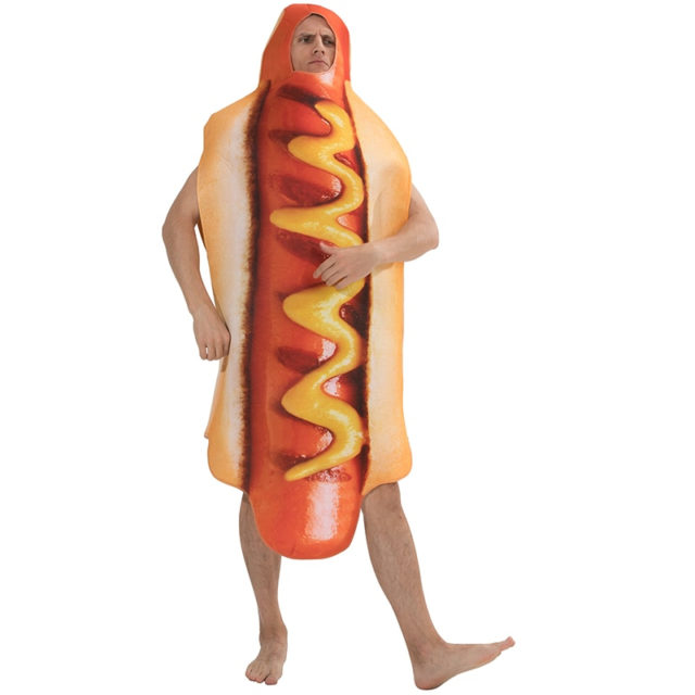 Men's Hot Dog Costume for Party