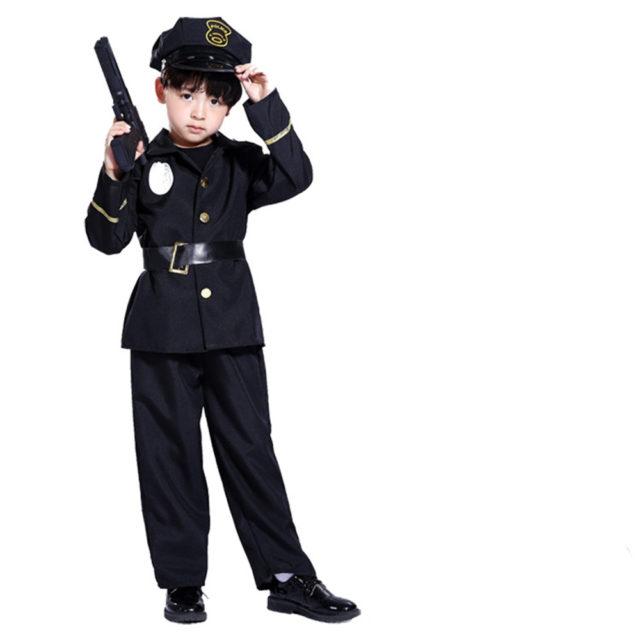 Boys Policeman Costume Set