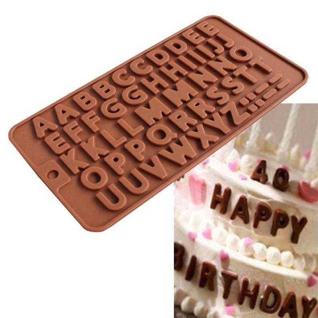 Letter Shape Silicone Cake Pan