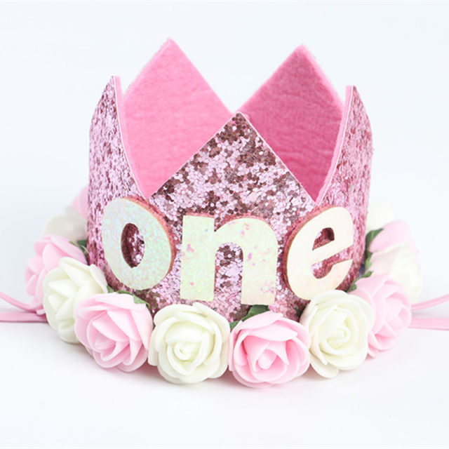 Sweet Princess Crown for Birthday Party